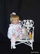 Ooak Berenguer Sweet New Custom Made 21 Blonde Baby Doll Maddi With Extras