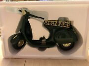 1996 Vintage 10andrdquo Long Heavy Weight Coca Cola Die Cast Miniature Scooter. Green