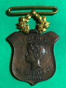 1896-1898 Philippines Campaign Medal Bronze Basso 803 H-54