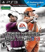 Tiger Woods Pga Tour 13 Incl. The Masters Ps3