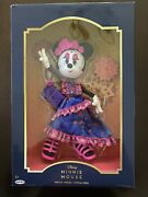 Minnie Mouse Catrina Doll Collectors Edition Exclusive In Mexico