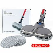 Electric Mopping Vacuum Brush And Cleaner Cleaning Cloth For Dyson V7 V8 V10 V11