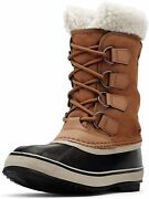Sorel Womenand039s Winter Carnival Boot - Rain And Snow - Waterproof - Camel Brown -