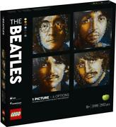 Lego Art The Beatles 31198 Collectible Building Kit 2933 Pieces