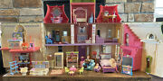 Hard To Find Loving Family 2012 Dream Dollhouse Dolls And Furniture Lot
