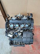2012 09-14 Yamaha Yzf R1 Yzfr1 Complete Engine Motor Runs Excellent 6k