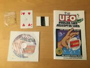 The Ufo Whirling Card Helicopter Card Publication 1997 Geno Munari Houdini