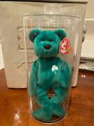 Vintage Rare 1997 Ty Beanie Baby Erin Errors In Mint Condition