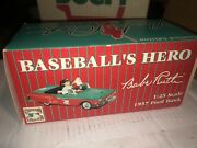 New York Yankees Babe Ruth And Santa Holiday 1957 Ford Diecast Collectible Model