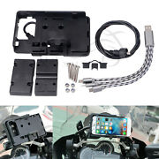 Mobile Phone Stand Fixed Boxes External Power Cord Usb Data Cable For Bmw Honda