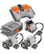 Lego Power Functions Set 4-s Technic,motor,receiver,remote,speed,joint,gear