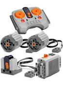 Lego Power Functions Set 3-s Technic,motor,receiver,remote,speed,xl,gears,axle