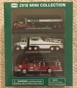 2018 Mini Hessandnbsptruck Collection 3 Vehicles-new In Hand And Ready To Ship