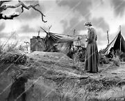Crp-40727 Woman Unknown Actor Actress Standing At Grave Site Photo Code Z-1-33