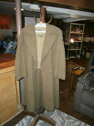Vintage Army Air Corp Long Cold Weather Jacket - Vg Cond
