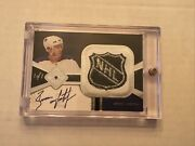 04-05 Ultimate Collection Brian Leetch Auto Patch / Shield Andrsquod 1/1