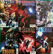 Thor 1 2 3 4 5 6 Donny Cates Comic Lot Set Black Winter All First Prints Variant