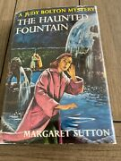Judy Bolton 28 The Haunted Fountain By Margaret Sutton 1958 Printing