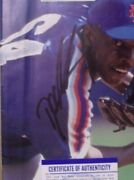 Dwight Gooden March 22 1993 Sports Illustrated Hand Signed Coa