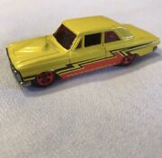 Ford Thunderbolt - 2007 Hot Wheels All Stars - Yellow Red Glass