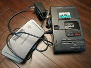 Sony Microcassette Transcriber M-2000 With Foot Pedal