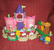 Fisher Price Little People Pink Castle Robin Hoodand039s Lair Cart Horses Kings Queen
