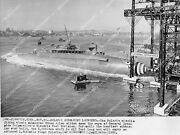 Crp-2523 1960 New Submarine Uss Ethan Allen Launches From General Dynamics W Pol
