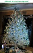 Yuletide Expressions 7 Ft Aluminum Christmas Tree - Premium 133 Branches