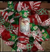 A Christmas Story You'll Shoot Your Eye Out Deco Mesh Wreath