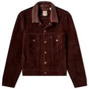 Levi's Vintage Clothing 1960's Suede Trucker Jacket Brown Italy Men's M Sold Out