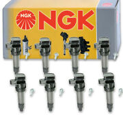 8 Pcs Ngk Ignition Coil For 2006 Cadillac Dts 4.6l V8 - Spark Plug Tune Up On