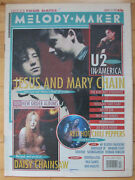 Melody Maker V68 Issue 12  Mar 21 1992 Jesus And Mary Chain L7 Daisy Chainsaw