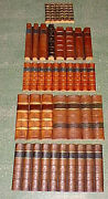 Antique Old Leather Leather-bound Book Spines Faux False Fake Imitation Replica