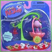 2006 Littlest Pet Shop 316 Dragonfly Nectar Feeder Swing And Magnet Please Read