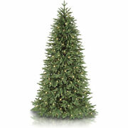 Balsam Hill Stratford Spruce 7.5 Foot Christmas Tree W/ White Lights Open Box