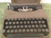 """Vintage Smith And Corona Zephyr Ultraportable Typewriter 1938 Only 3"""" Tall"""