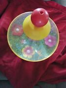 Vintage Baby Child Toy Game Chicco Spinning Top