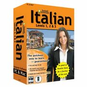 Lot Of 1720 Learn How To Speak Italian Instant Immersion Retail Blowout Priced