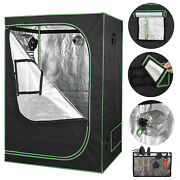 Room Hydroponic Grow Tent With Observation Window And Floor Tray 24x48x60