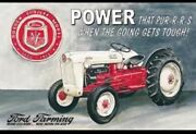 Ford Golden Jubilee Metal Tin Sign Tractor Farm Home Garage Shop Wall Decor 699
