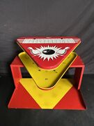 Vintage 50's T. Cohn Superior Toys Tin Litho Magnetic Bowling Game Missing Pins