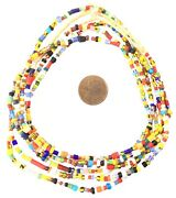Amazing Vintage Ghana Christmas African Seed Beads Glass African Trade Beads