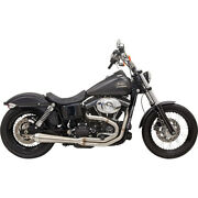 Bassani Road Rage Iii Exhaust Sys. 07-09 H-d Dyna Low Rider Efi-fxdl