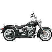 Bassani Road Rage 2-into-1 Sys. For 99-06 H-d Softail Stand.fxst