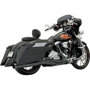 Bassani Road Rage Ii B1 Pwr 2-1 Sys. Blk For 95-06 H-d Ele-glide Stand.flht