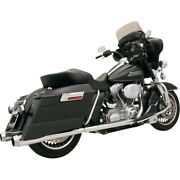 Bassani +p Bagger Duals Sys. W/ Pwr Curve 95-06 H-d Road King-flhr