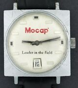 Vintage Wind-up Mocap Leader In The Field Advertising Character Watch