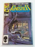 The Punisher 4 1986 1st Series High Grade Collectible Comic Book Marvel