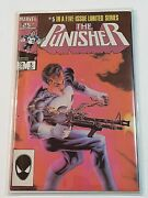 The Punisher 5 1986 1st Series High Grade Collectible Comic Book Marvel