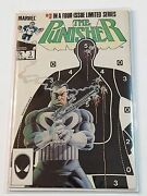 The Punisher 3 1986 1st Series High Grade Collectible Comic Book Marvel